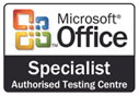Microsoft Office Specialist Authorised Testing Centre Logo