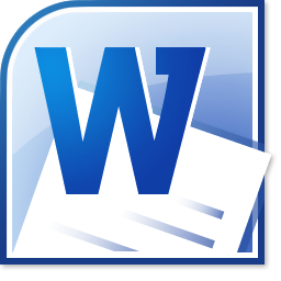 Microsoft Office Word logo icon